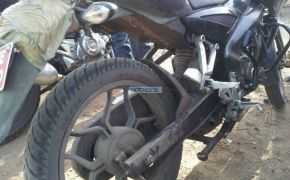 Spy Shots: Bajaj Pulsar 150 NS Spotted