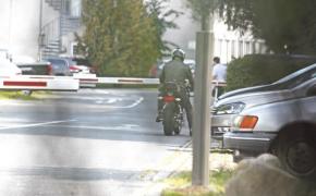 TVS- BMW First Prototype Caught Testing