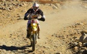 Riding Suzuki Bike Suresh Babu Stands 2nd In Raid De Himalaya