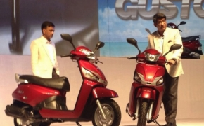 Mahindra Launches GUSTO Scooter