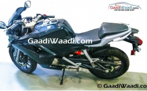 Hero HX250R Spotted Testing In India