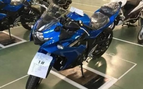 Spyshots: Suzuki GSX-R250 First Look
