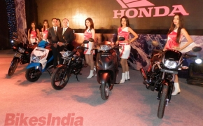 Honda launches 5 updated bikes