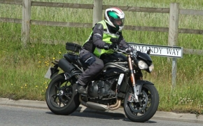 2016 Triumph Speed Triple Caught Testing