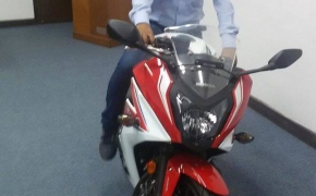 Honda CBR650F Spotted At Dealership- launch soon?