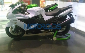 Kawasaki Introduces Ninja ZX-14R In Pearl White Color