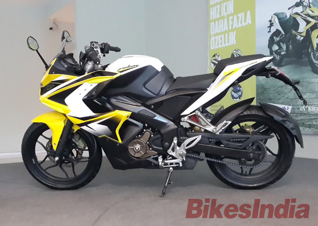 Scoop The Upcoming Pulsar RS200 Will Have ABS Even On Base Version