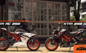 KTM RC250 And Duke 250 Promotion Begins- TVC Video