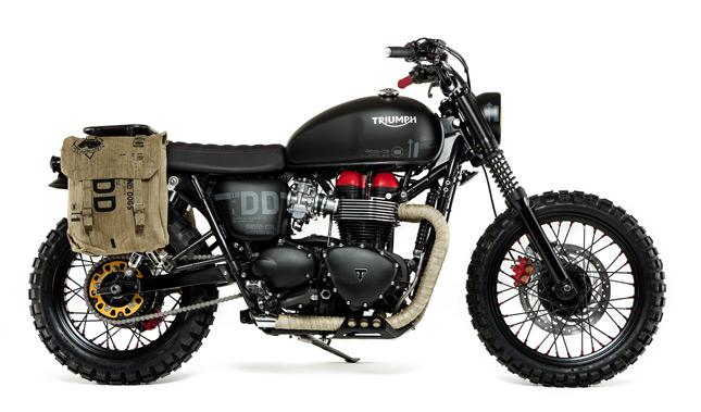 Triumph Unveils Custom Bonneville- VENOM » BikesMedia News