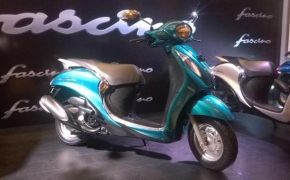 Yamaha Launches Fascino 113cc Scooter