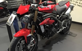 2016 Triumph Speed Triple Spotted At Dealership