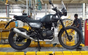 Royal Enfield Himalayan Production Starts