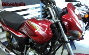 Bajaj Platina ComforTec Spotted At Showroom- BI Report