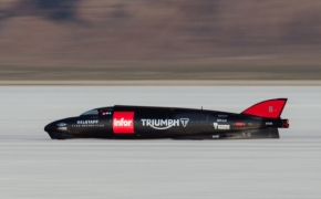 Triumph Breaks Their Own Speed Record On Bonneville