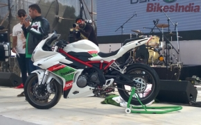 2016 IBW- DSK Benelli Showcased TRK 502 And Tornado 302
