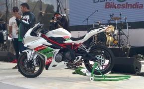 2016 IBW- DSK Benelli Showcased TRK 502 And Tornado 302