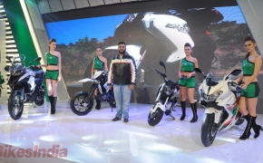 DSK Benelli Unveils Four New Motorcycles At Auto Expo'16