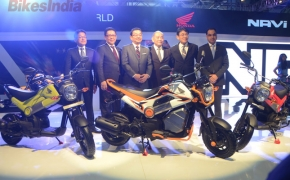 Honda Launches NAVI- a unique bike with 110cc CVT engine