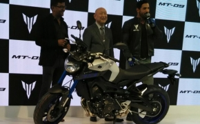 Yamaha Launches MT-09 At Auto Expo 2016