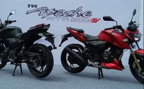 2016 TVS Apache RTR 200 4V Launched