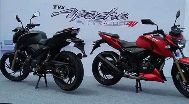 2016 Tvs Apache Rtr 200 4v Launched Bikesmedia News