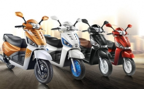 Mahindra Unveils New Gusto 125 Scooter