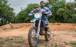 Aravind KP To Race 2017 Dakar Rally For TVS Racing