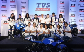 TVS Racing Collaborates With Alisha Abdullah Racing Academy For Women