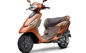 Special Edition TVS Scooty Zest 110 Launched
