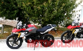 BMW G 310 GS, 300cc Adventure Bike Spotted
