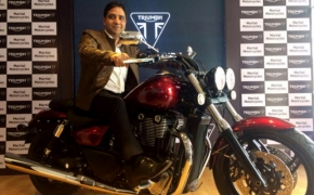 Triumph Motorcycles Now Available In Vijaywada