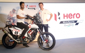 Hero MotoSports Showcases 'Hero RR 450' In India