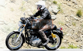 Updated 2017 Royal Enfield Continental GT With ABS- Spied