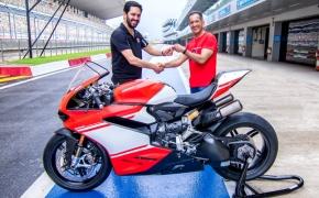 Ducati Delivers First 1299 Superleggera In India