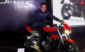 Triumph India Launches 2017 Street Triple S 765