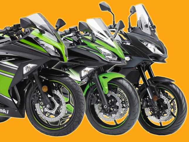 Kawasaki Updates Line up With 2017 Ninja 300, Ninja 650 and Versys