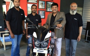 Mahindra Two wheelers Introduces First Mojo Exclusive Dealership
