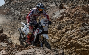 Afriquia Merzouga Rally Stage 5- <br /> Hero MotoSport's JRod And C S Santosh Hold Steady