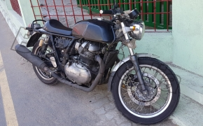Royal Enfield Continental GT 750 Twin Cylinder Spied- BM Exclusive