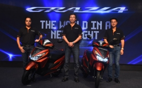 Honda Launches Grazia 125cc Scooter