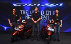 Honda Launches Grazia 125cc Scooter