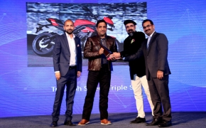 News18 'Two Wheeler of the year' Award Goes To Triumph Street Triple S
