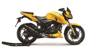 TVS Apache RTR 200 Fi4V Launched With Electronic Fuel Injection