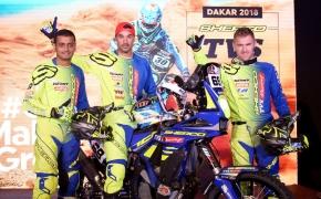 Sherco TVS Team Announced For Dakar 2018