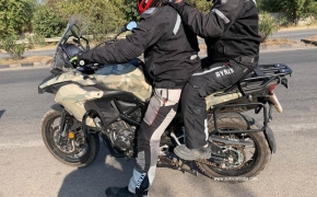 Benelli TRK 502X Spotted Testing In India