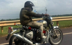 Royal Enfield Scrambler 500 Spotted- This Is Not A Scrambler