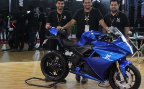 Emflux ONE Unveiled At Auto Expo 2018