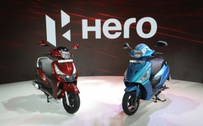 Hero Showcases New Maestro Edge 125 and Duet 125- Auto Expo 2018