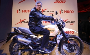 Hero Unveils XPulse Adventure Motorcycle- Auto Expo 2018