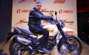 Hero Unveils XPulse Adventure Motorcycle- Auto Expo 2018